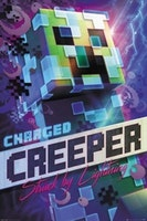 Minecraft Charged Creeper - Poster 61x91 cm