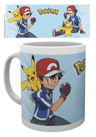 Pokemon Mugg - Ash & Pikachu