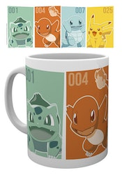 Pokemon Mugg - Friends