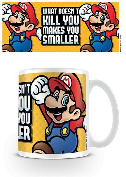 Super Mario mugg - Makes you smaller!