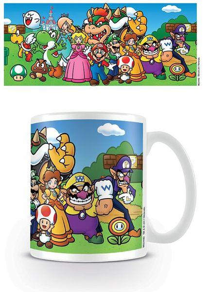Super Mario mugg - Characters
