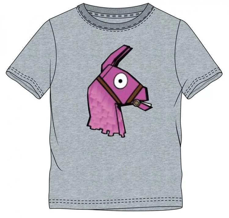 Fortnite T-shirt - Llama Grey