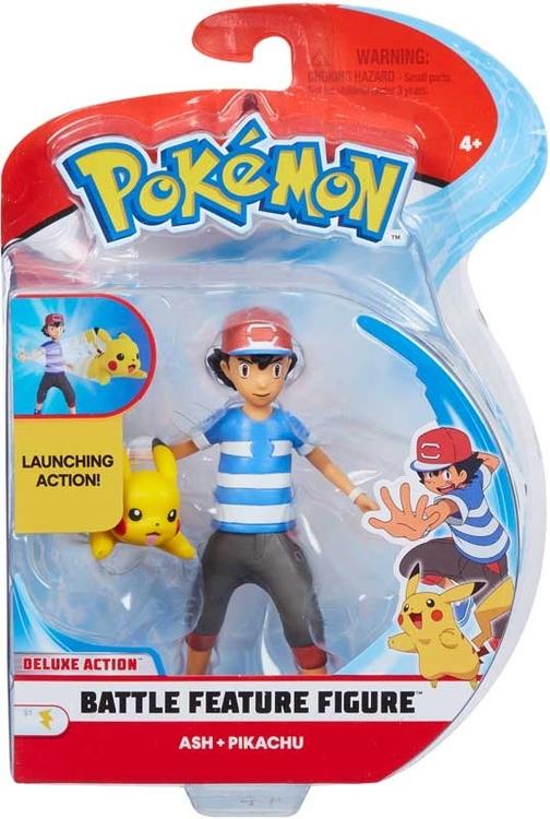 Pokémon 2 - pack Stridsfigurer / Ash& Pikachu