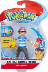Pokémon 2 - pack Stridsfigurer / Ash& Pikachu