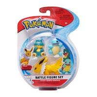 Pokémon Stridsfigurer Jolteon - Squirtle - Munchlax