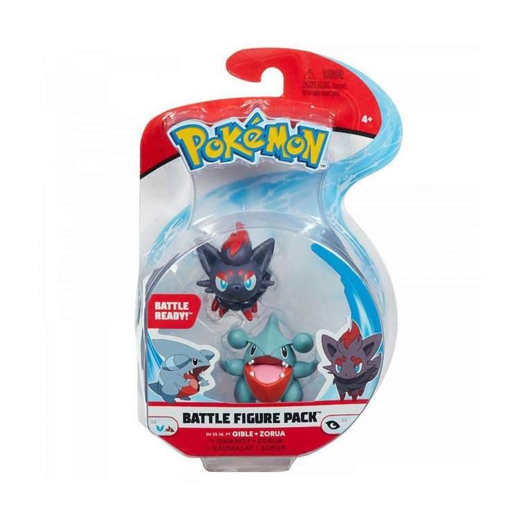 Pokémon Stridsfigurer Gible Zorua