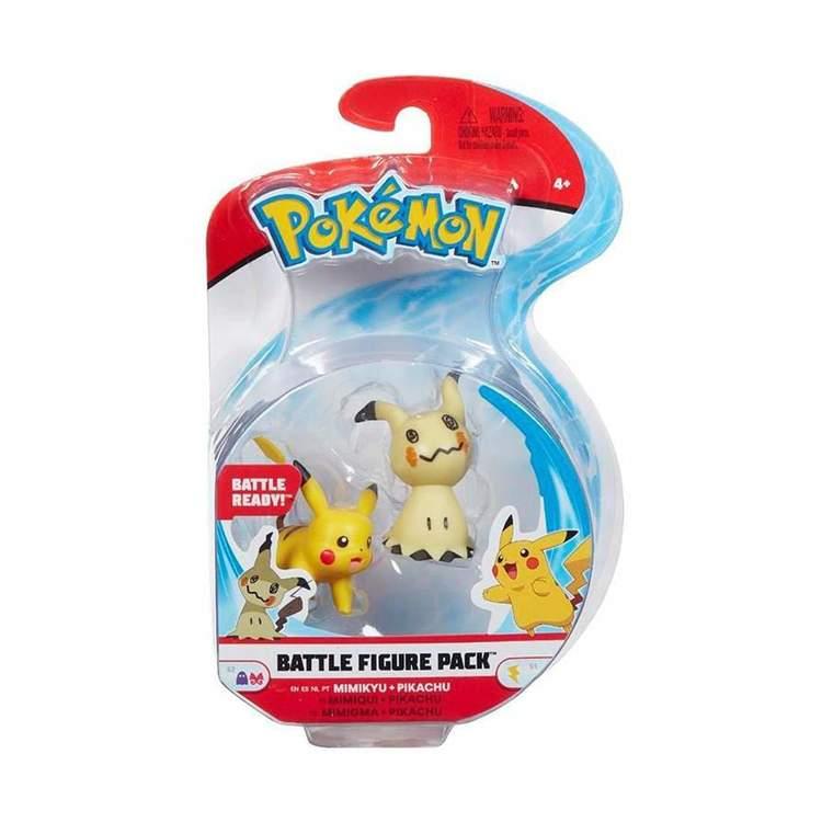 Pokémon Stridsfigurer Mimikyu Pikachu
