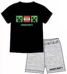 Minecraft Pyjamas / T-shirt + Shorts TNT Creeper