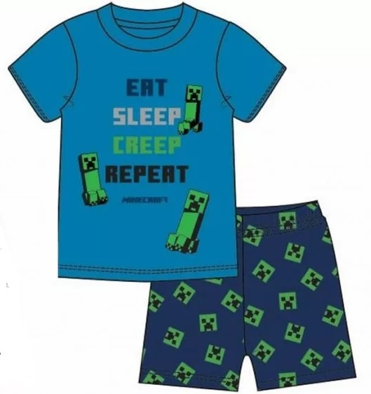 Minecraft Pyjamas / Eat Sleep Creep Repeat
