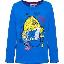 Brandman Sam Långärmad tröja med visir i plast