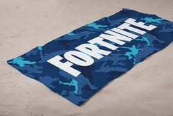 Fortnite Handduk / Badlakan Camo