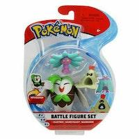 Pokémon Dartrix - Sandygast - Mareanie