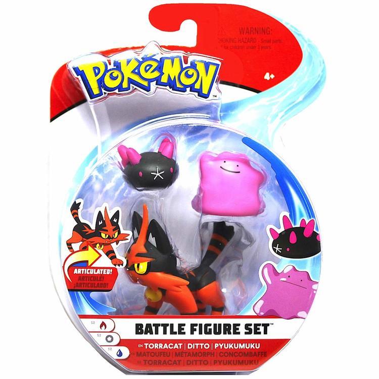 Pokémon Torracat - Ditto - Pyukumuku