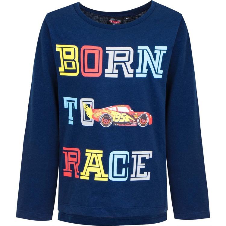 Bilar / Cars Långärmad tröja - Born to race