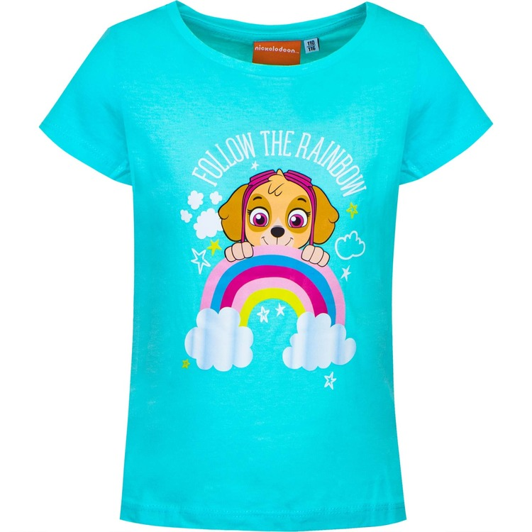 Paw Patrol T-shirt - Follow the rainbow