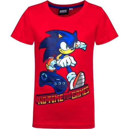 Sonic T-shirt - No time for games