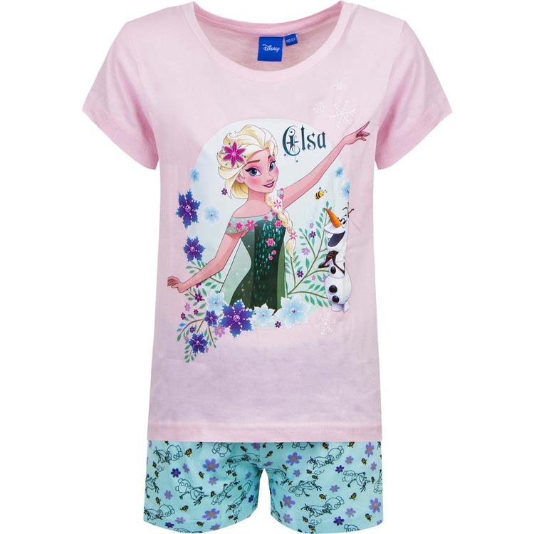 Disney Frost 2 delat set - Tshirt & Shorts / Kortärmad pyjamas