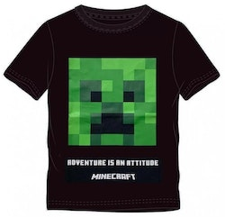 Minecraft T-shirt -  Adventure is an attitude!