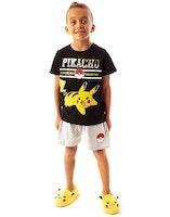 Pokémon Kortärmad Pyjamas - Pikachu - Pokeball