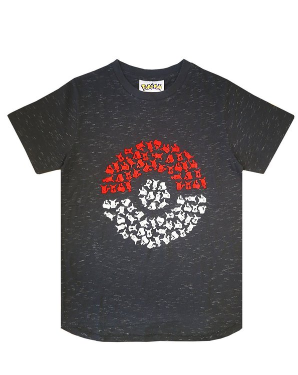 Pokémon - T-shirt / Kortärmad tröja - Pokeball