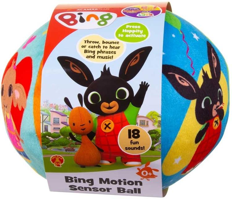 Bing Lekboll / Boll med rörelsesensor