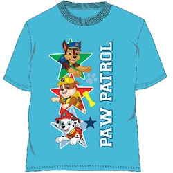 Paw Patrol T-shirt - Superstars Light blue