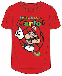 Super Mario T-shirt - It's a me Mario!