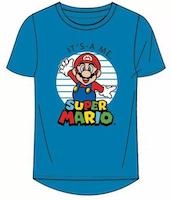 Super Mario T-shirt / Kortärmad tröja - Mario Bros - Blå