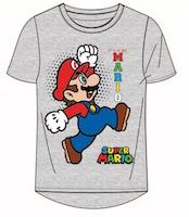 Super Mario T-shirt / Kortärmad tröja - Mario Bros Grå