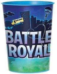 Fortnite Gaming Mugg / glas 473 ml - Battle Royale