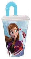 Disney Frost / Frozen Mugg med sugrör