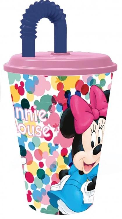Disney Mimmi Pigg / Minnie mouse Mugg med sugrör