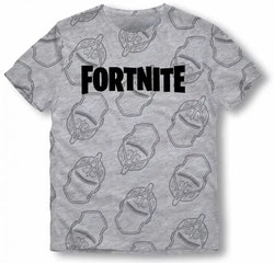 Fortnite T-shirt - Grey -  The knight