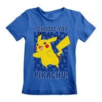 Pokemon T-shirt / Kortärmad tröja - Pikachu - I choose you