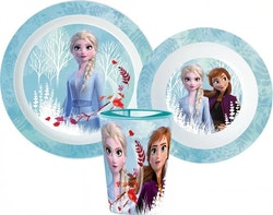 Disney Frost 2 / Frozen - 3-delat Måltidsset