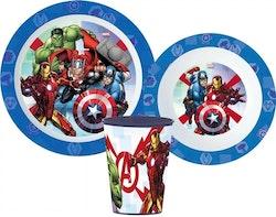 Avengers 3-delat Måltidsset