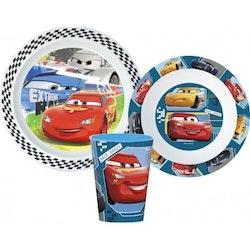 Disney Cars - Bilar 3-delat Måltidsset