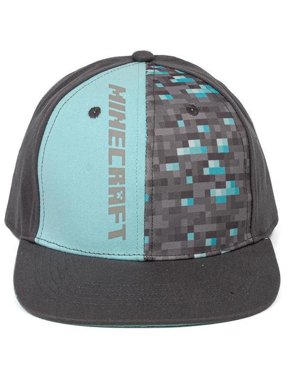 Minecraft Diamond Lightblue-Grey Keps - Luxury Limited edition