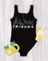 Friends / Vänner Baddräkt
