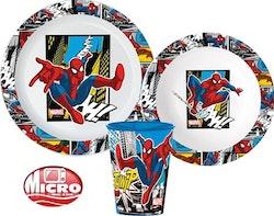 Spindelmannen 3 -delat Måltidsset med mugg - Spiderman