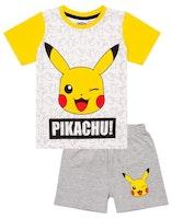 Pokémon Kortärmad Pyjamas - Pikachu