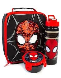 Spiderman / Spindelmannen  Lunchkit - Flaska, lunchväska och matlåda