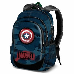 Marvel / Captain America Avengers Ryggsäck / Skolväska 44 cm Laptop