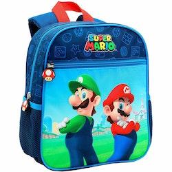 Super Mario Bros Ryggsäck / Skolväska  - Mario & Luigi