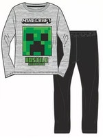 Minecraft Långärmad pyjamas - Hostile behavior
