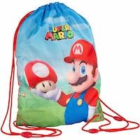 Super Mario Gympapåse / Gymbag - Mario & Toad