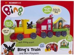 """Bing Tåg """"Lektåg"""" Lyser och låter"""