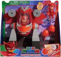 Pyjamashjältarna / PJ Mask Owlette / Ugglis Robot Fordon