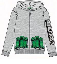 Minecraft Hoodie / Luvtröja - Creeper alliance!