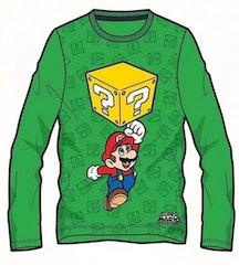 Super Mario Långärmad tröja - Mario Jump!